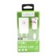 KIT 3IN1 SET RICARICA DA VIAGGIO PER CELLULARE MICRO USB