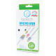 CAVO SOFTWIRE METAL CASE MICRO USB DA 300CM