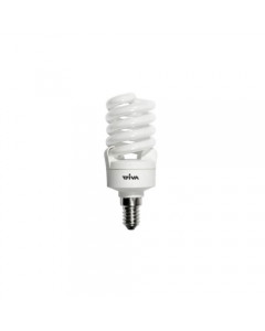 LAMPADA A SPIRALE RISPARMIO ENERGETICO 2700k 15w e14