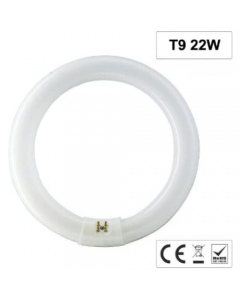 LAMPADA CIRCOLARE MOD. REC22 T9 6400K
