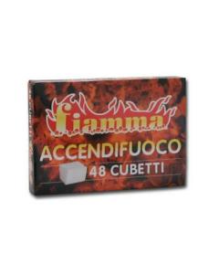 ACCENDIFUOCO 48 FIAMMA CUBETTI 48