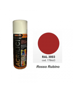 SPRAY BRIXO COLORS ROSSO      RAL 3003