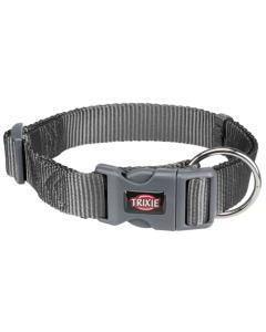TRIXIE COLLARE PREMIUM L-XL 40-65cm/25mm GRIGIO