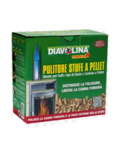 DIAVOLINA PULITORE STUFE A PELLET 1,5kg